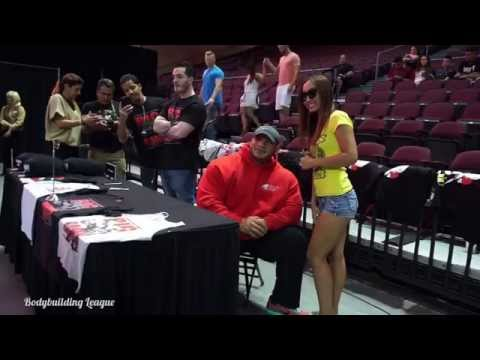 Big Ramy @ 2015 Mr Olympia meet the Olympians in the Orleans Arena