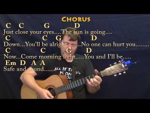 Safe and Sound (Taylor Swift) Guitar Cover with Chords/Lyrics