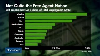 Why the U.S. Is a Self-Employment Laggard