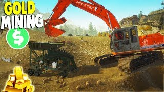 $$$  GOLD MINE SIMULATOR EXPANSION - New Equipment Buys | Gold Rush The Game Gameplay
