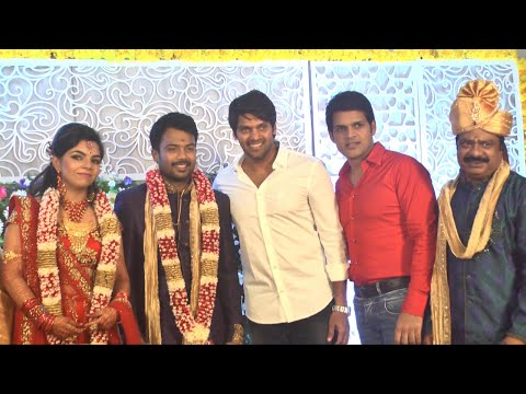 Actor Pandiarajan Son Prithvi Engagement | Arya, Vijay Sethupathi, Vairamuthu, Manoj, Radhika