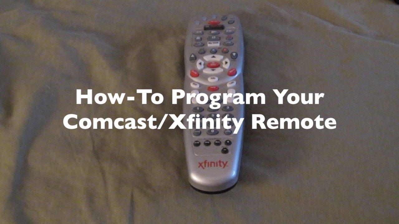 How-To Program Your Comcast/Xfinity Remote
