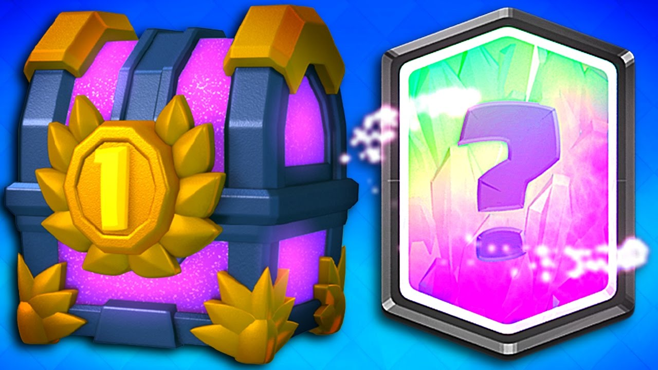 WHAT'S INSIDE Clash Royale 1ST PLACE CHEST!? #103005 | KANYE