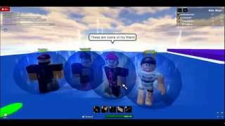 Lets Play ROBLOX:My Classic Swordfighting arena!