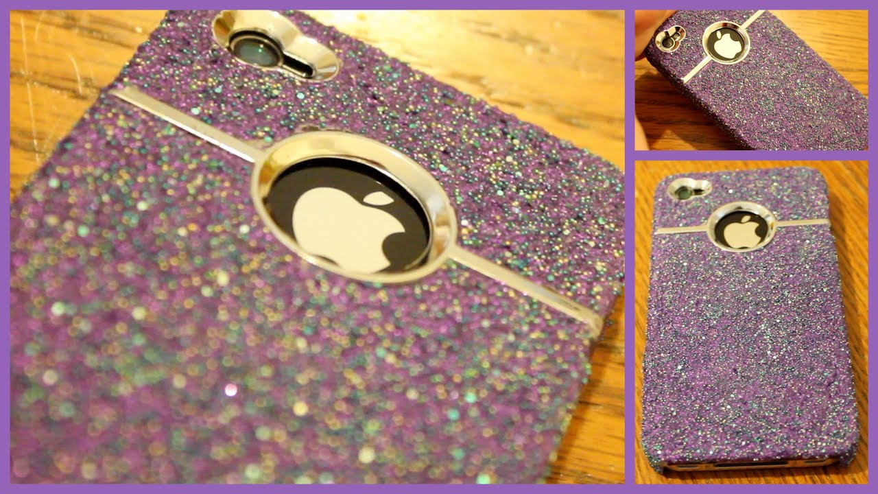 Case Design 1d phone case : DIY Sparkle iPhone Case! - YouTube