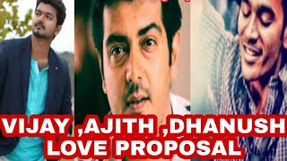the best tamil love proposal cute whatsapp status tamil video|vijay ,ajith, dhanush