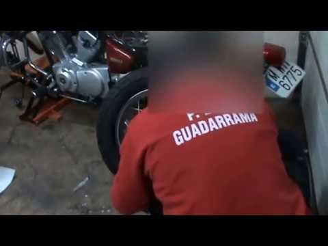 Moto Hydraulique élévateur pour Yamaha XV 250 Virago Support De Montage RB