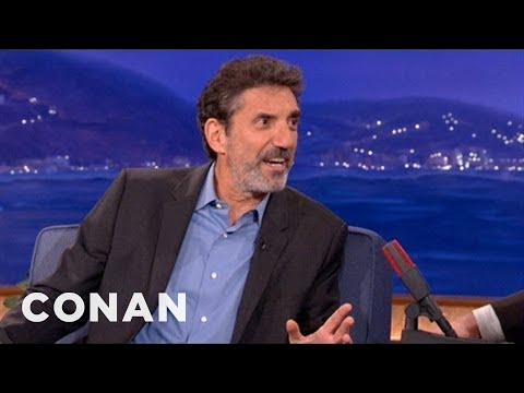 How Chuck Lorre Got His Big Break In Television - CONAN on TBS
