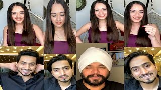 Jannat Zubair Live With Faisu |