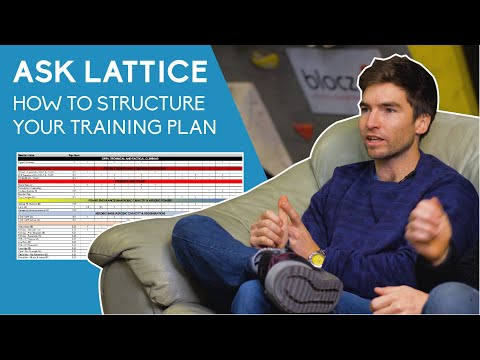 Ask Lattice: EP 11: Structuring Your Climbing Training