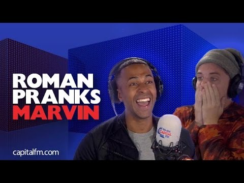 Roman Pranks Marvin By Swearing  Live  On The Radio