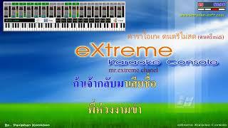 ใบตองรองน้ําตา พรศักดิ์ ส่องแสง คาราโอเกะ midi karaoke