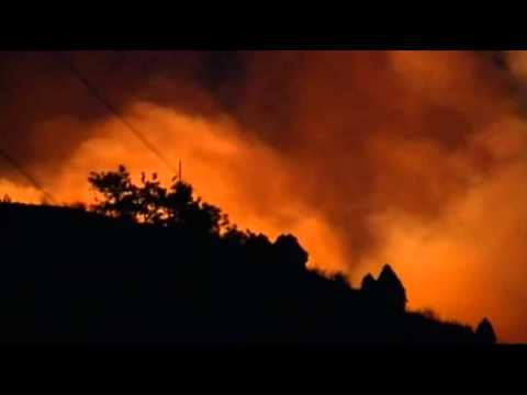 Raw Video: 1 Found Dead in Colorado Wildfire