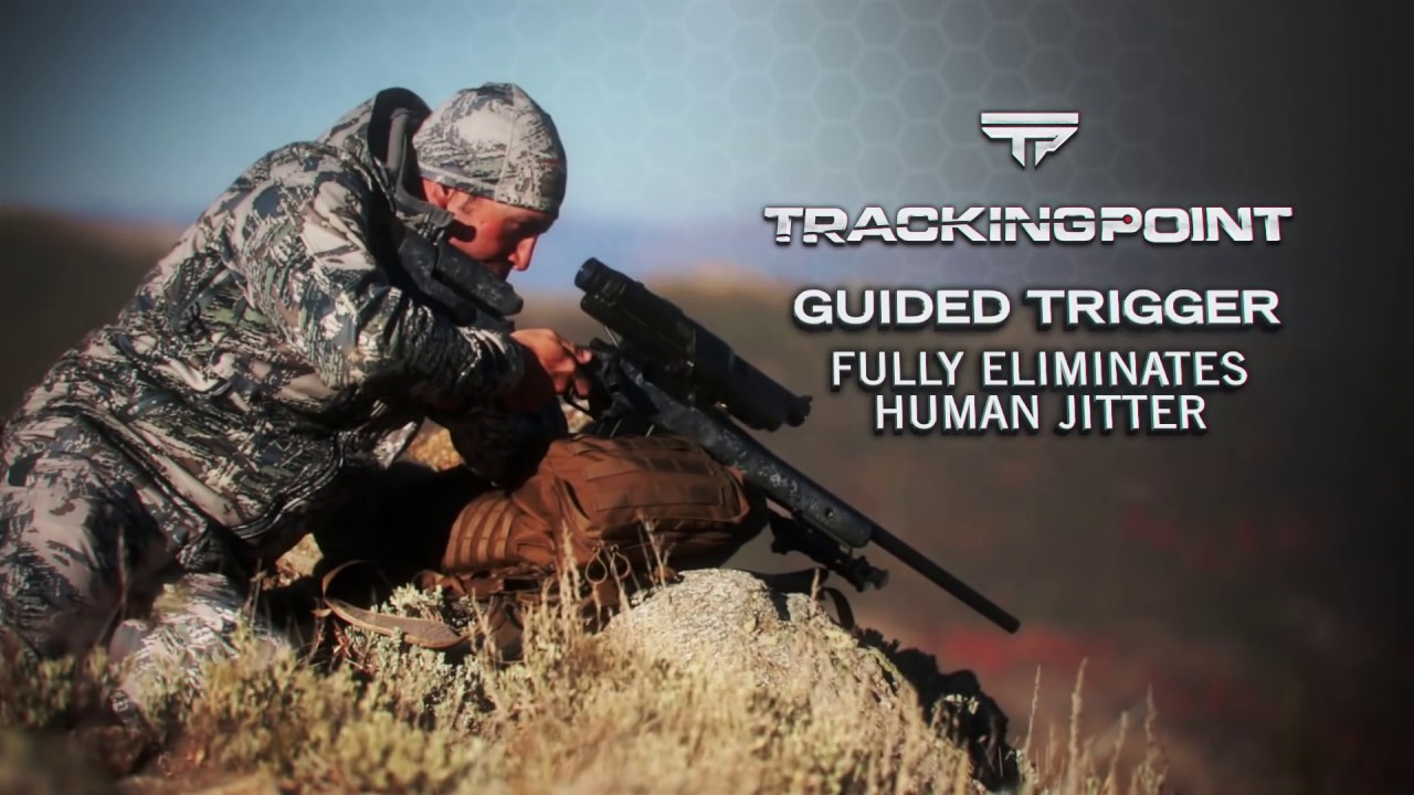 Tracking point rifle guided trigger youtube