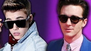 Justin Bieber Crashes Drake Bell