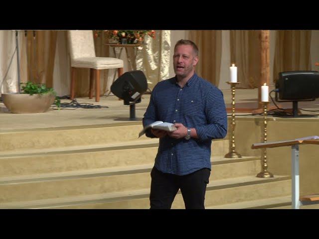 20 Juli 2019 Förmiddagsmöte med Morgan Carlsson som predikar under Mirakelkonferensen 2019