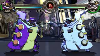 Big Band Fights Only With JoJo References - Skullgirls