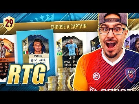 MY BEST EPL DRAFT EVER!!! - FIFA 18 Road To Fut Champions! Ultimate Team #29 RTG