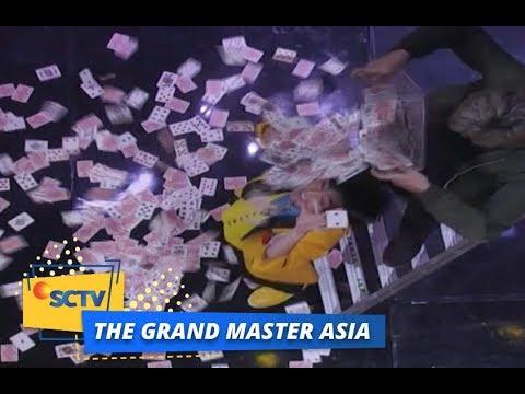 SPEKTAKULER, TanBa Buat Penonton Tertawa dengan Kartu   The Grand Master Asia