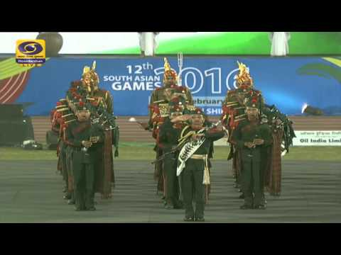 Opening Ceremony - South Asian Games 2016 (SAG 2016) - LIVE