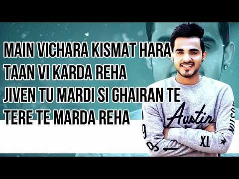 MAIN VICHARA Lyrics | ARMAAN BEDIL - MAIN VICHARA