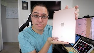 10.5-inch iPad Pro (Rose Gold) Unboxing, Setup & First Impressions