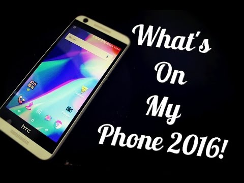 What's on my Phone 2016! | HTC Desire 626s
