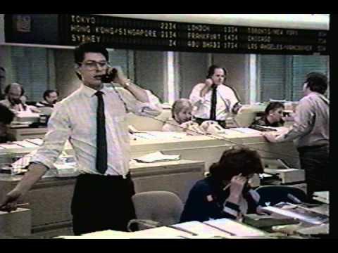 RBC Trading Room 1988 on CBC Venture.avi