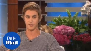 Justin Bieber apologies for arrogant attitude and his behavior - Daily Mail