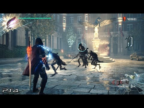 Devil May Cry 5 Demo: No Damage Rank S PUNCHLINE Devil Breaker Gameplay PS4 PRO