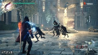 Devil May Cry 5 Demo: No Damage Rank S PUNCHLINE Devil Breaker Gameplay (PS4 PRO)