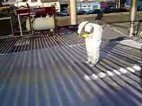 Polyurea Roof Coating Youtube