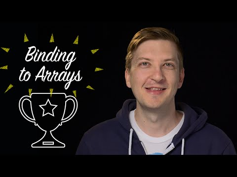 Binding To Arrays -- Polycasts #35