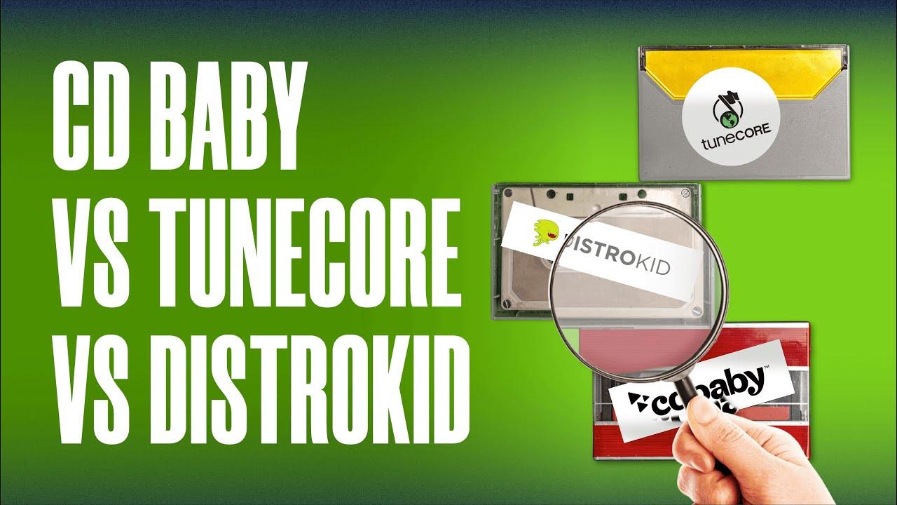 ¿Qué es una distribuidora musical? | TuneCore vs DistroKid vs CD Baby 2020 | Industria de la Música