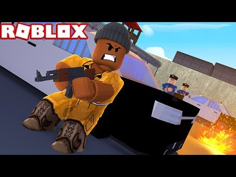 ROBBING EVERY STORE IN ROBLOX JAILBREAK