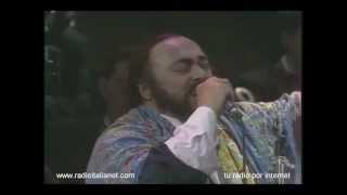 Luciano Pavarotti canta La Donna e' Mobile (Pavaotti & friends)