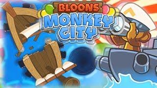 WIRY WODNE   MISJA SPECJALNA   #007   Bloons Monkey City   PL