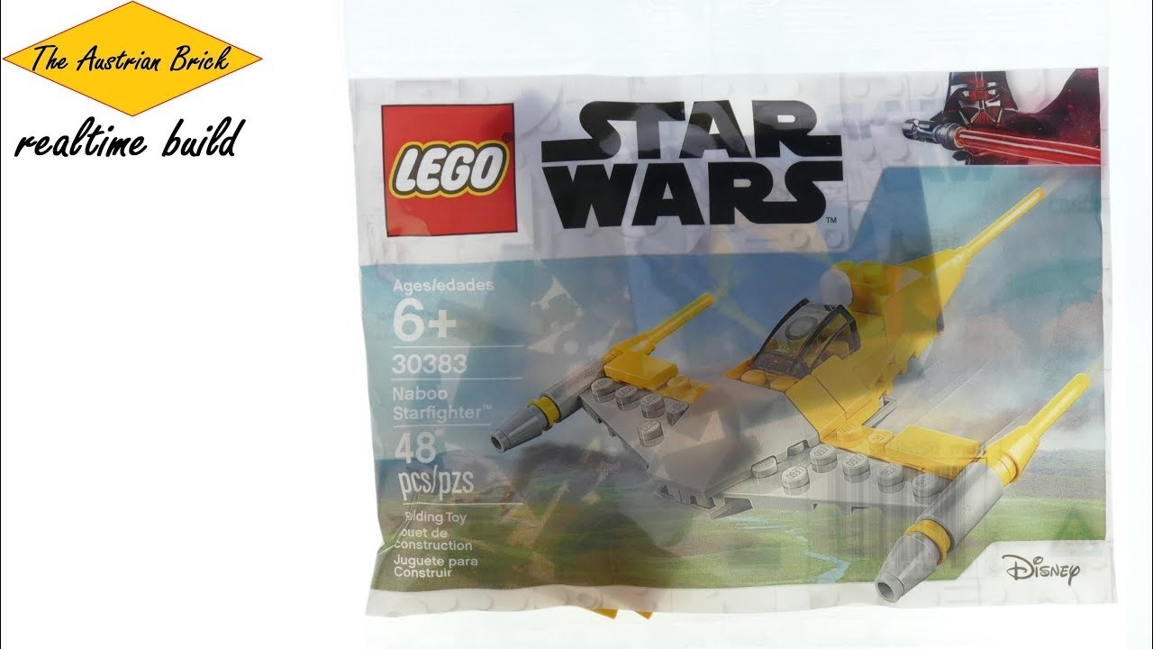 Lego Star Wars 30383 Naboo Starfighter new sealed 48 pieces polybag
