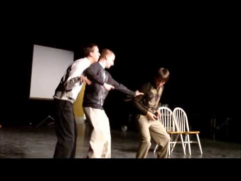 Group improv taking on a situation involving a bubble bath. (Without introduction)
