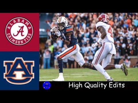 #5 Alabama Vs #15 Auburn 2019 Iron Bowl Highlights | College Football Highlights