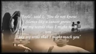 Simon & Garfunkel Sound Of Silence - Livesound with Lyrics.