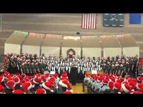 20151217 Concert Choir ~ Up On The House Top