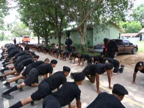 ฝึกทหารใหม่ กรมทหารพรานที่ 41 รุ่น 2 ปี 2557