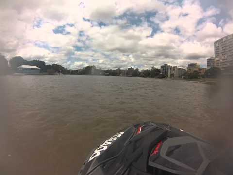 Jetskiing Brisbane River Part 3