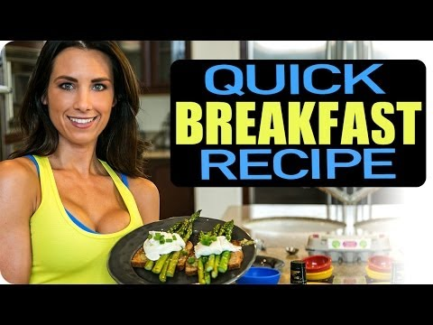 Perfect Poached Eggs & Asparagus Toast—Quick Breakfast Recipe | Autumn Fitness