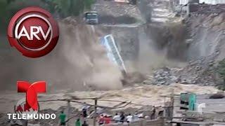 Emergencia por inundaciones en Perú | Al Rojo Vivo | Telemundo