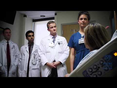 Residency training at Emory University Hospital