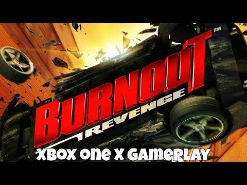Burnout Revenge - Xbox One X Gameplay (1080p/60FPS)