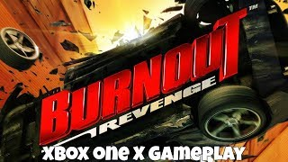 Burnout Revenge - Xbox One X Gameplay (1080p/60FPS)