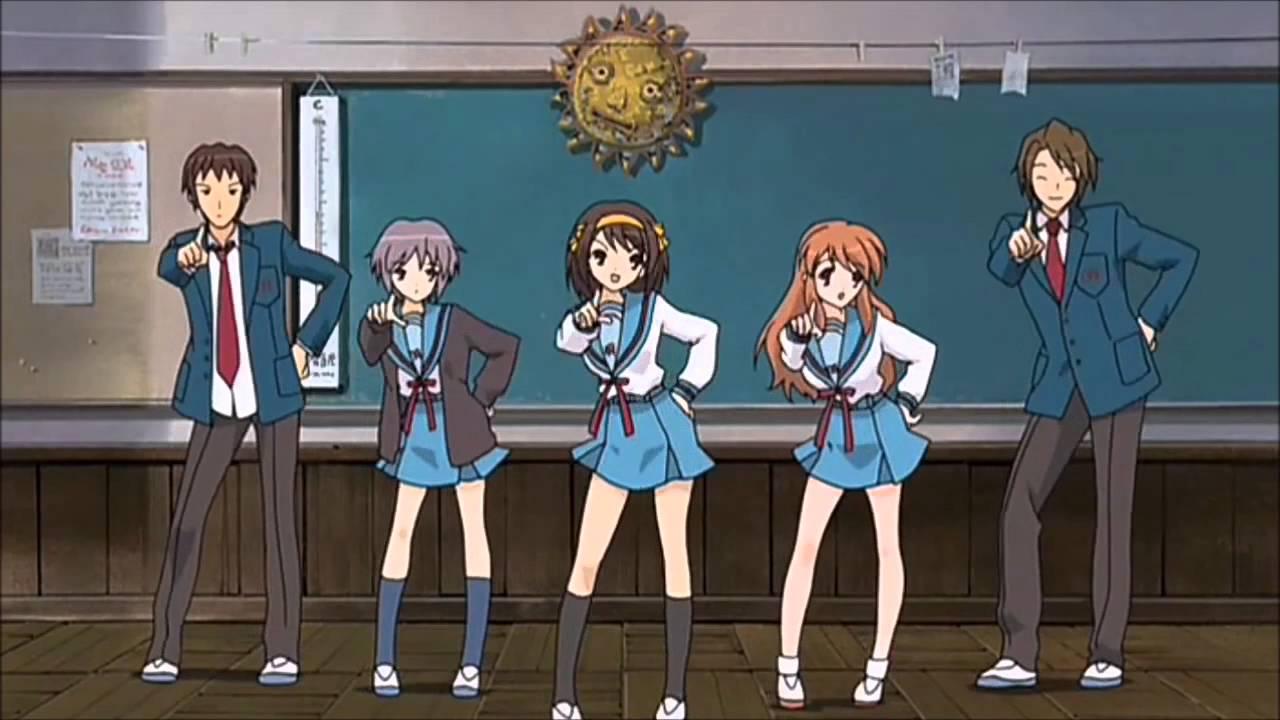 Anime Characters Dancing : Anime characters dancing amv ft alfons glitch